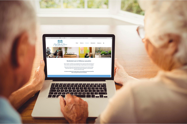 HBH website design